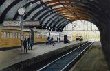 Väntar på tåget / Waiting for the train