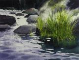 Stenar i vatten / Stones in water