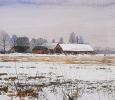 Vinterlandskap - Winter Landscape