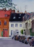 Cars on Prennegatan